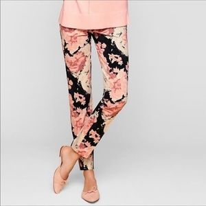 Talbots | Women's Chatham Floral Ankle Pants Sz 6P